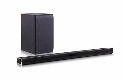 LG SH4 300W 2.1 Wireless Sound Bar for TV Bluetooth HDMI Optical AUX RRP£249 #D1