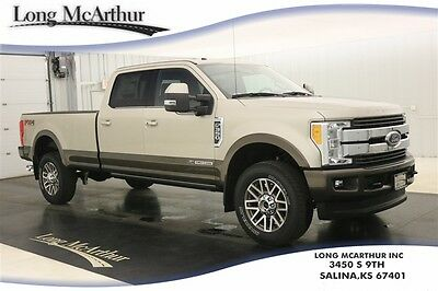 2017 Ford F-350 KING RANCH 4X4 CREW CAB NAV MSRP $75090 4WD 4 DOOR POWERSTROKE DIESEL SUPER DUTY VOICE NAVIGATION LEATHER SEATS
