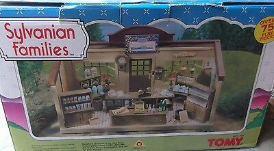 Sylvanian Families Boxed Complete Vintage Tomy Village General Grocery Store MIB