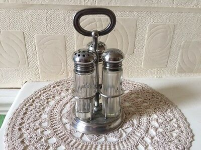 Antique Gorham Manufacturing Co  Electro Plate Cruet Set 1914 USA