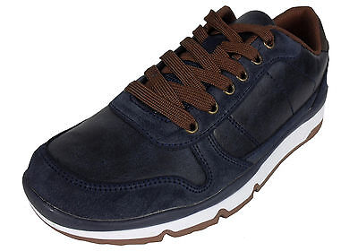 Mens Casual Lace Up Shoe Memory Foam Insole Fashion Trainers Shioes Comfort