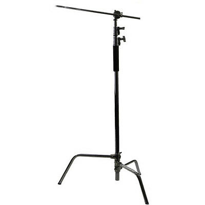 Interfit INT308 C-Stand with Boom Arm Kit (290cm)
