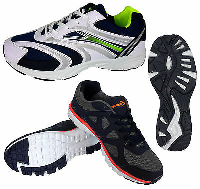 Mens Shock Absorbing Running Trainers Jogging Gym Fitness Shoe Trainer UK 6 -12