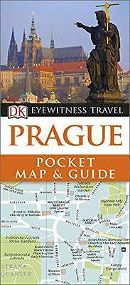 DK Eyewitness Pocket Map and Guide: Prague by  | Paperback Book | 9780241209141