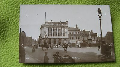 The Bridge Walsall John Price Black Country Postcard No.760? 9876