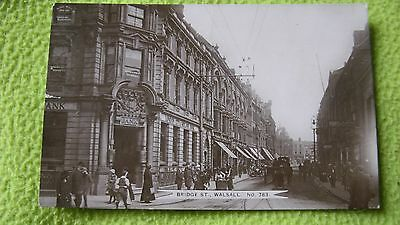 Bridge Street Walsall John Price Black Country Postcard No.783 9886
