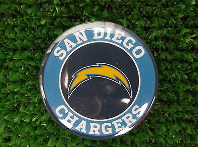 SAN DIEGO CHARGERS  BADGE or  FRIDGE MAGNET