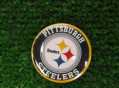 PITTSBURGH STEELERS  BADGE or FRIDGE MAGNET