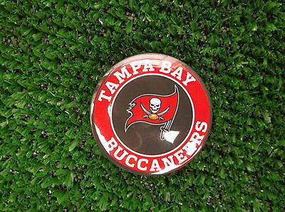 TAMPA BAY BUCCANEERS  BADGE or  FRIDGE MAGNET  38mm  in size