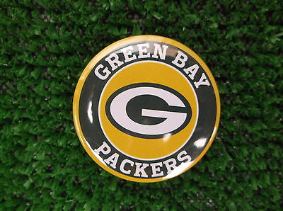 GREEN BAY PACKERS BADGE or  FRIDGE MAGNET