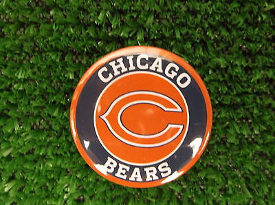 CHICAGO BEARS  BADGE or  FRIDGE MAGNET  38mm  in size