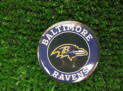 BALTIMORE RAVENS BADGE or FRIDGE MAGNET