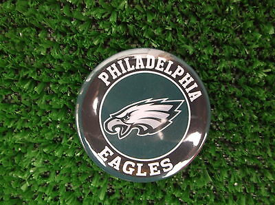 PHILADELPHIA EAGLES  BADGE or  FRIDGE MAGNET  38mm  in size