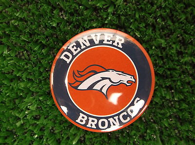 DENVER BRONCOS  BADGE or  FRIDGE MAGNET  38mm  in size