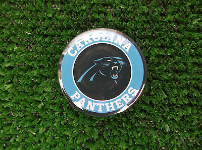 CAROLINA PANTHERS BADGE or  FRIDGE MAGNET