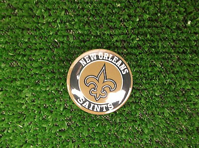 NEW ORLEANS SAINTS  BADGE or FRIDGE MAGNET