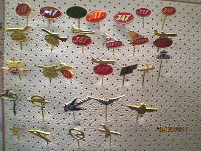 AIRPLANES  large lot of pins 29 pcs