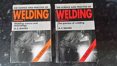 The science and practice of welding Volume 1 & Volume 2