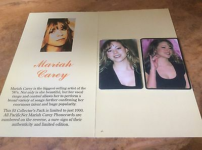 Mariah Carey - Phone cards - Australia Limited Edition 1000, Extremely Rare Item
