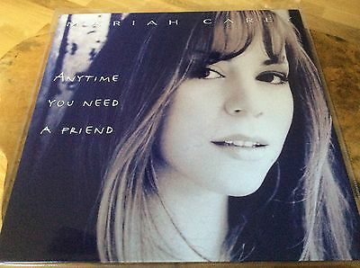 "Mariah Carey - Anytime You Need A Friend - 1994 UK 4trk 12""Vinyl. Very Rare."