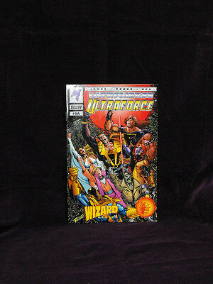 Malibu Comics - Ultraforce Wizard Ashcan #0A