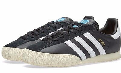 Adidas Samba SPZL Men's Black Trainers Size 9.5 UK 44 EUR BNIB New
