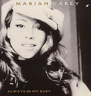 MARIAH CAREY - Always Be My Baby - 1996 USA 3trk Promo Only Cd Single RARE.