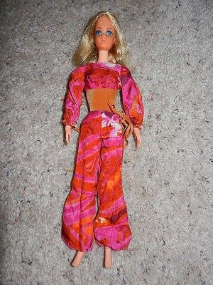 1970 Vintage Original Live Action Barbie In Original Outfit