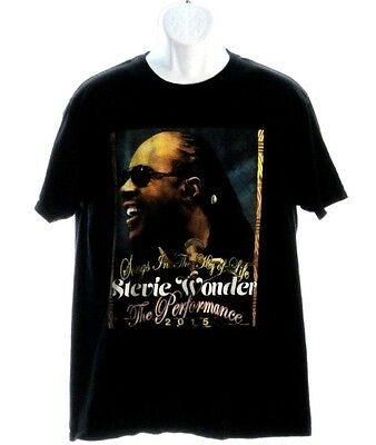 Stevie Wonder - Songs In The Key Of Life / 2015 Tour - Concert Shirt (Large)
