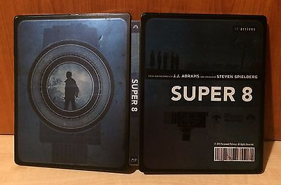 SUPER 8 Blu-ray Limited edition Steelbook, 2-disc edition