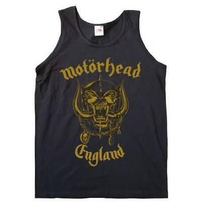 Motorhead 'England Gold' Womens Vest Top  - NEW & OFFICIAL!