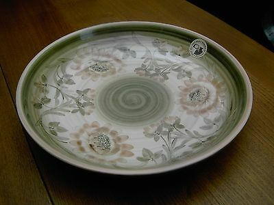Large JERSEY POTTERY Fruit Bowl HAND PAINTED 1991 In V.G.C. Free UK Postage