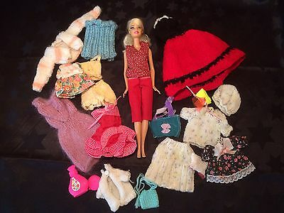 Barbie Doll And Clothes Bundle