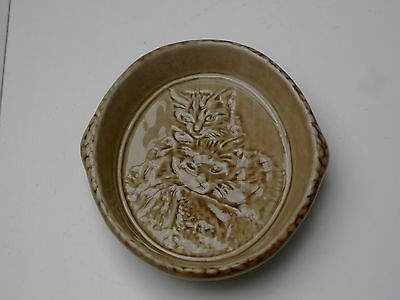WADE Cats Trinket Dish, Very Good Condition with Original Box. Free UK Postage