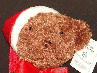 New First & Main Make-A-Wish Foundation Christmas Tucker Teddy Bear Plush Toy