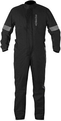 Alpinestars Hurricane Mens Rainsuit Black