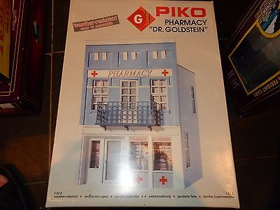 Piko Dr. Goldstein's Pharmacy Store G Scale Building Kit New In Box #62207