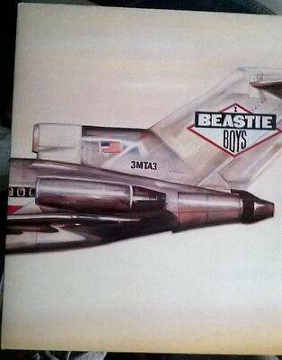Beastie Boys - Licensed To Ill Gatefold Lp Vinyl 1986