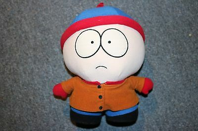 "Vintage South Park Official Stan Plush 12"" 1998 Comedy Central"