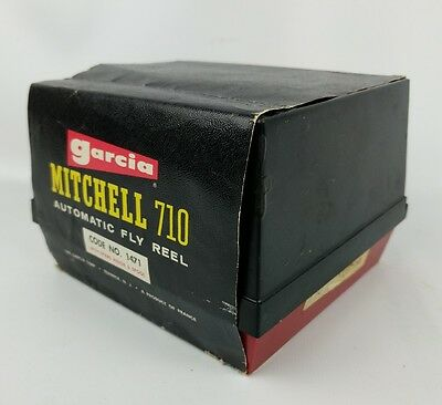 GARCIA MITCHELL 710 AUTOMATIC FLY REEL MADE IN FRANCE In Box W/ Manual