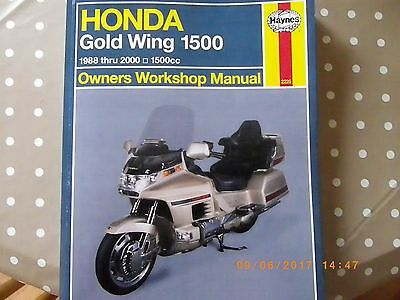 Goldwing owners manual