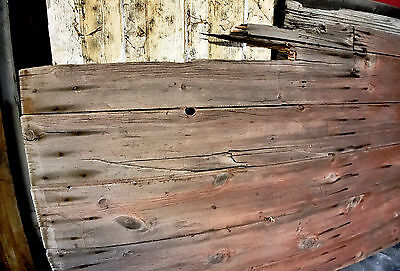 "Antique Barn Wood Door 102 1/2"" x 50 3/4"""