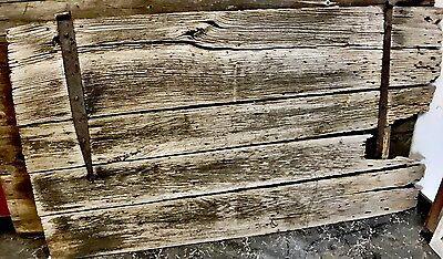 "Antique Barn Wood Door 82 3/4"" x 45 3/4"""