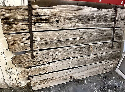 "Antique Barn Wood Door 83 3/4"" x 47 3/4"""