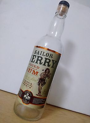 Sailor Jerry Original Recipe Rum - Original Design - Collectable - Empty Bottle