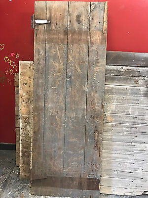 "Antique Barn Wood Door 71 1/2"" x 26 1/8'"