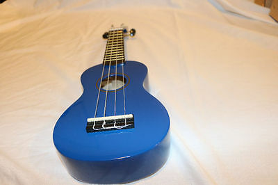 NEW Hamano U-30BU Colorful Soprano Ukulele - Blue