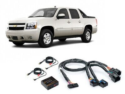 iSimple ISGM531 2007-2013 Chevy Avalanche Dual Aux Audio Input For Factory Radio