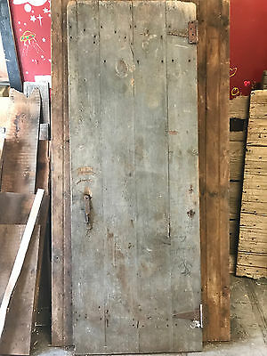 "Antique Barn Wood Door 72"" x 26 3/8"""