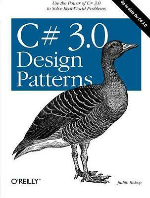 C# 3.0 Design Patterns by Judith Bishop | Paperback Book | 9780596527730 | NEW
